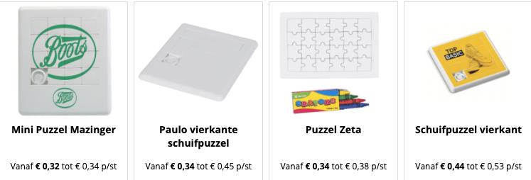 puzzels bedrukken