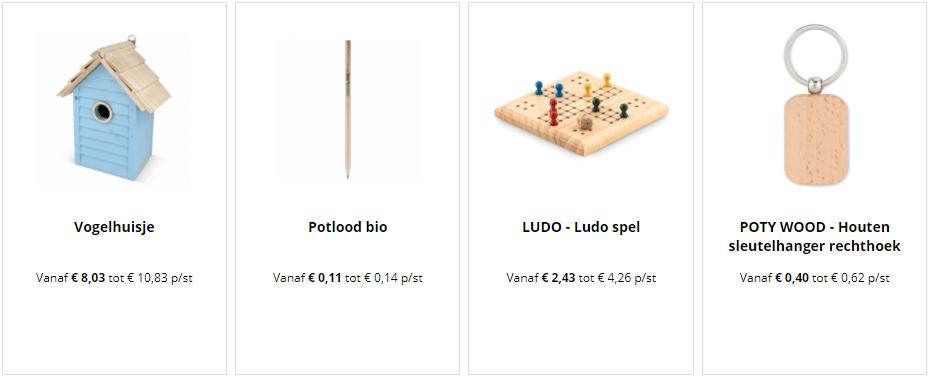 houten relatiegeschenken