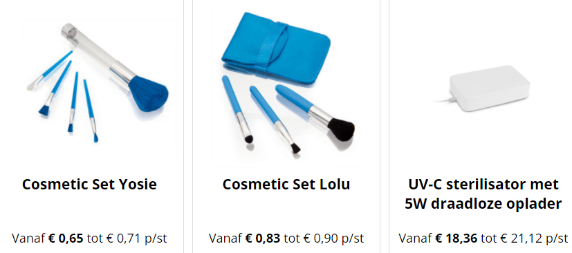 promotionele cosmetica