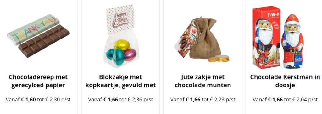 chocolade bedrukken